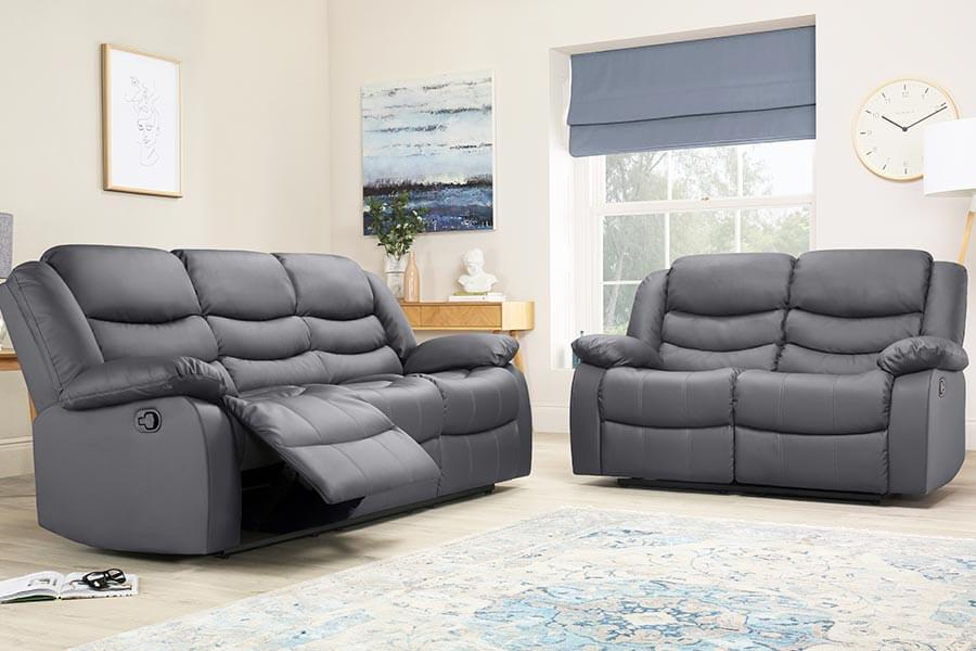 Leather Recliner Sofas - Buy Leather Recliners Online | Furniture Choice