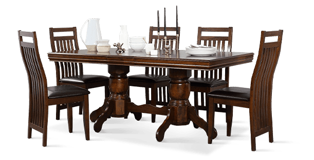 Chatsworth & Java Dining Set
