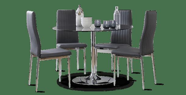 Orbit & Leon Dining Set