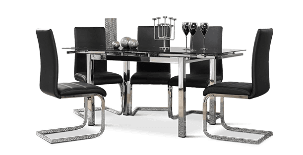 Space & Perth Dining Set
