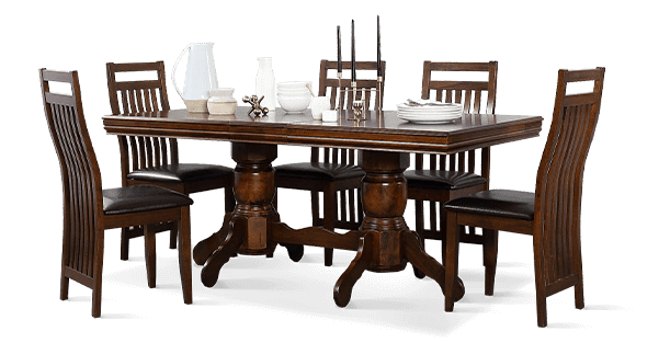 Chatsworth Table & Java Chairs Dining Set