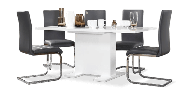 Osaka Table & Perth Chairs Dining Set