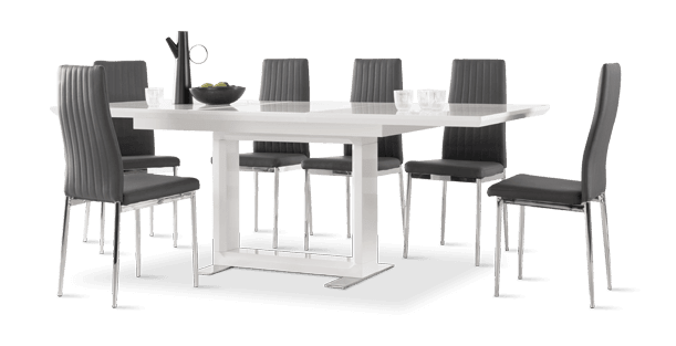 Tokyo Table & Leon Chairs Dining Set