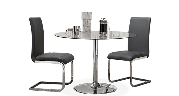 Orbit Table & Perth Chairs Dining Set