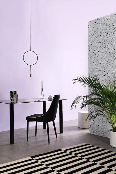 Modena Fabric Dining Chair - Black (Black Leg)