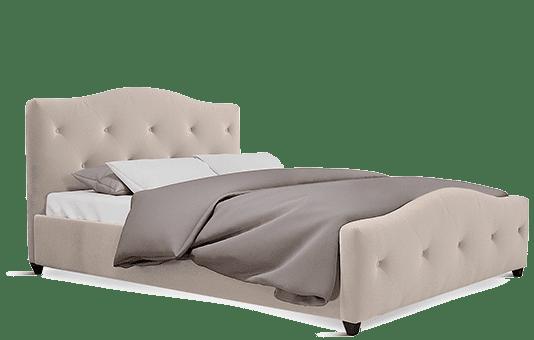 Sandringham Mink Velvet Bed