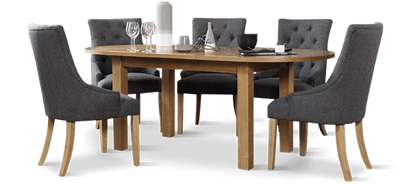 Hatton Table & Bewley Dining Chairs