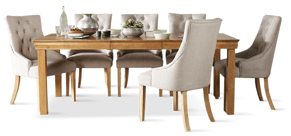 Fenchurch Table & Duke Dining Chairs