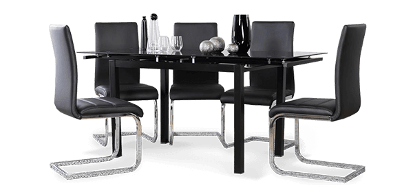 Space Table & Perth Dining Chairs