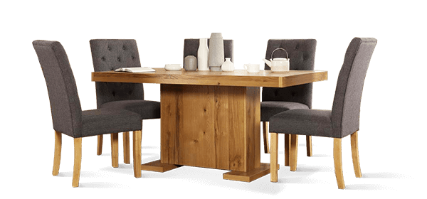 Chilton Dining Table & Hatfield Dining Chairs
