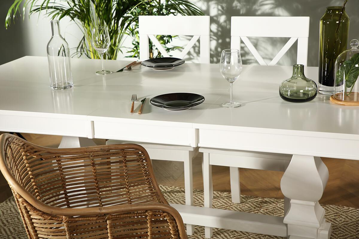 Cavendish White Extending Dining Table 160 - 200cm