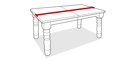 Table length before extending