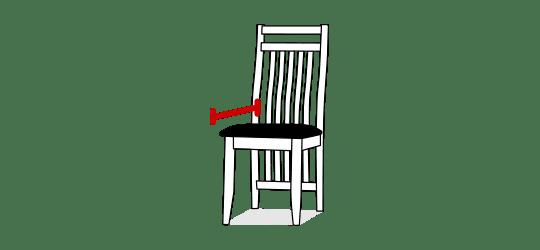 Seat depth