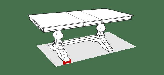 Leg width