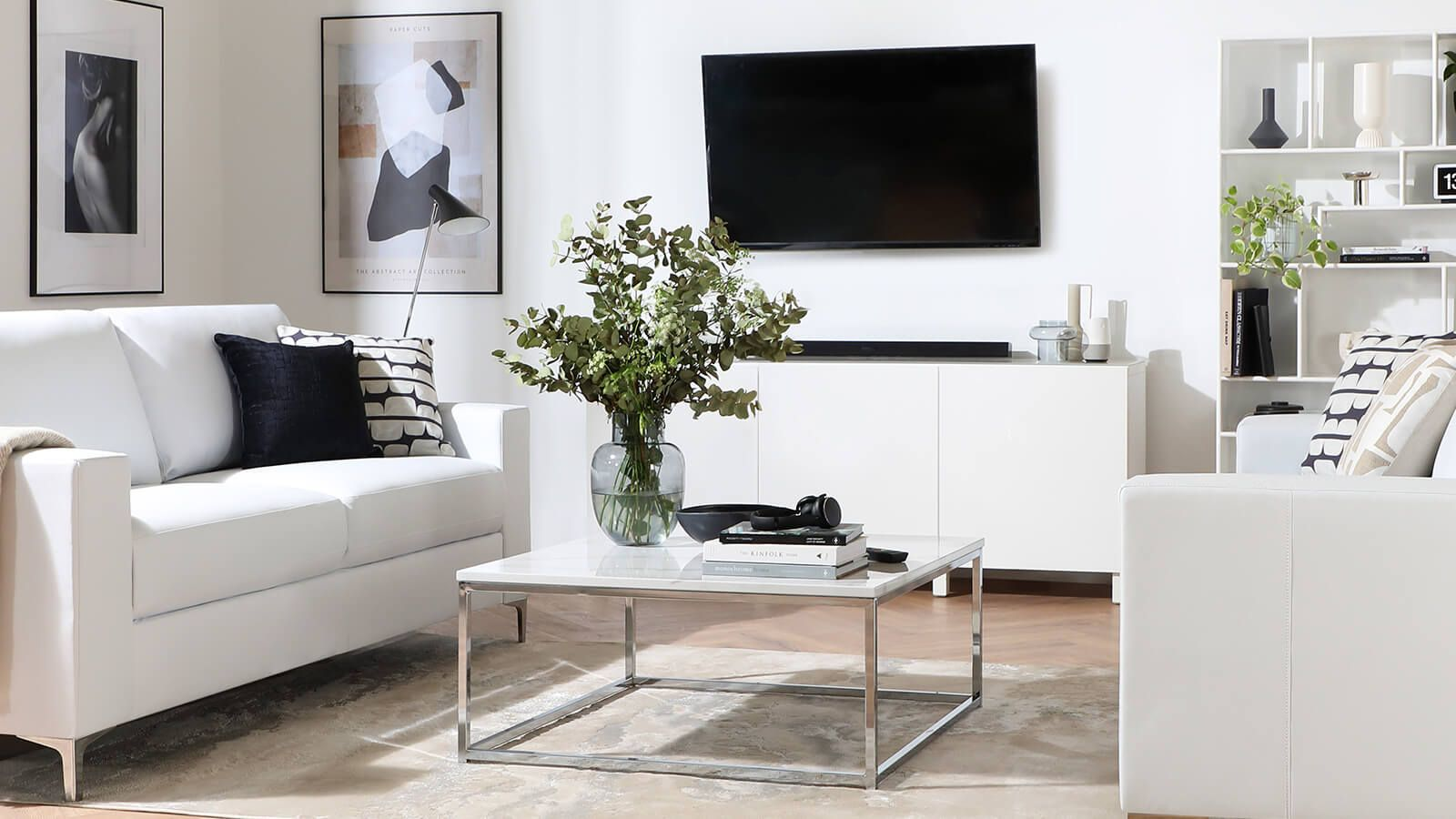 Smart home styling for a modern interior