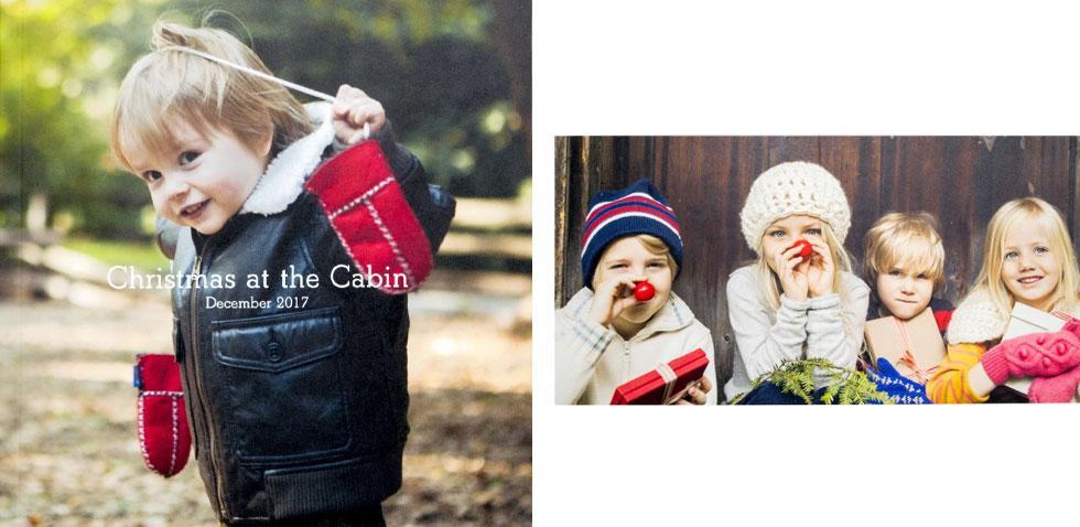 Photographs of children.