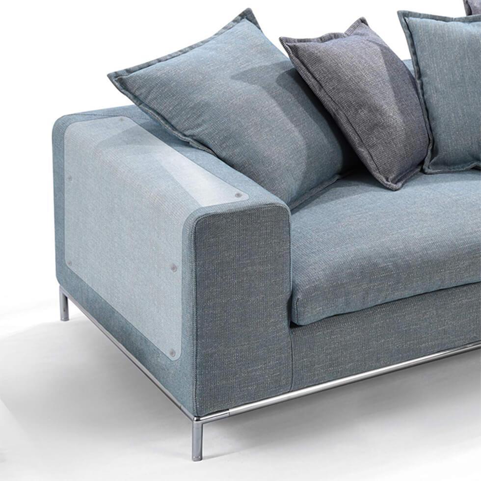 Sofa with a scratch guard
