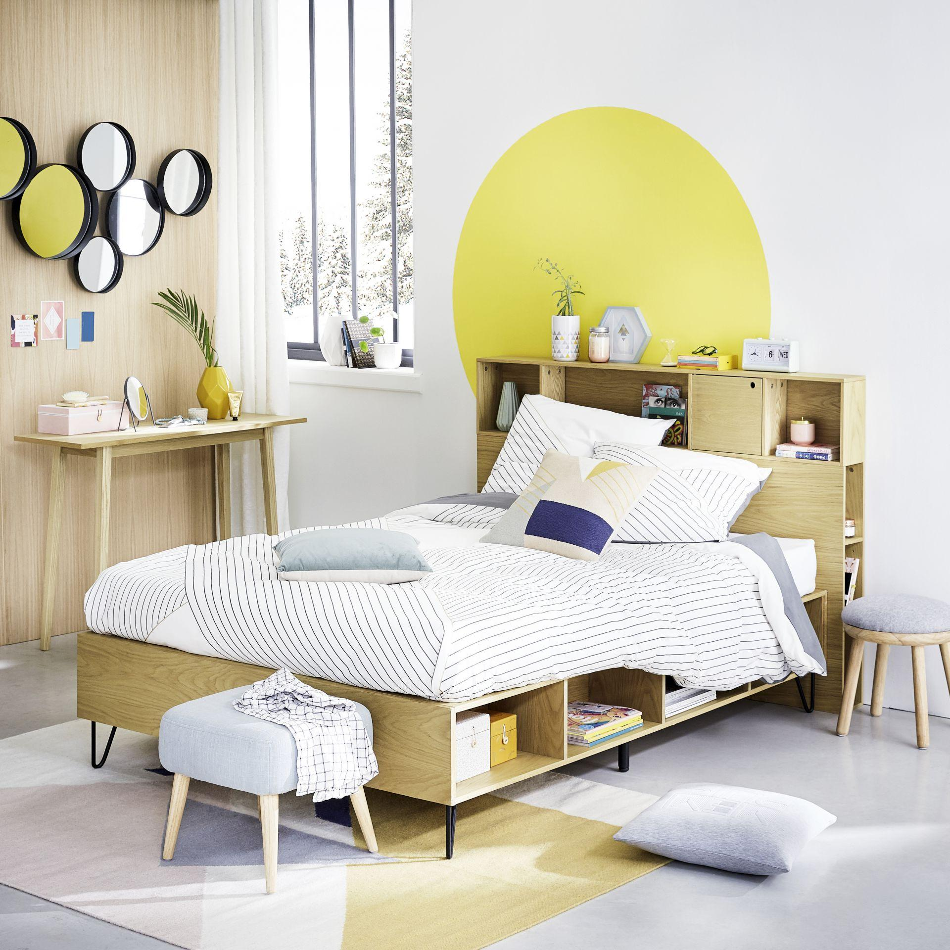 Beds with smart storage.