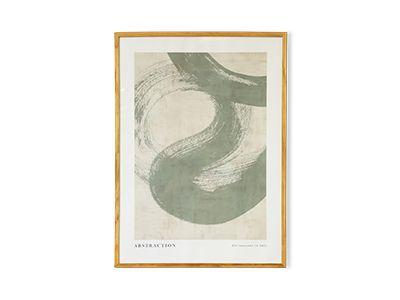 Abstraction No 1 Poster - Desenio