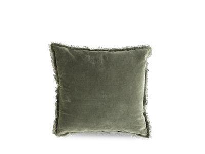 Velvet Fringe Cushion - Idyll Home