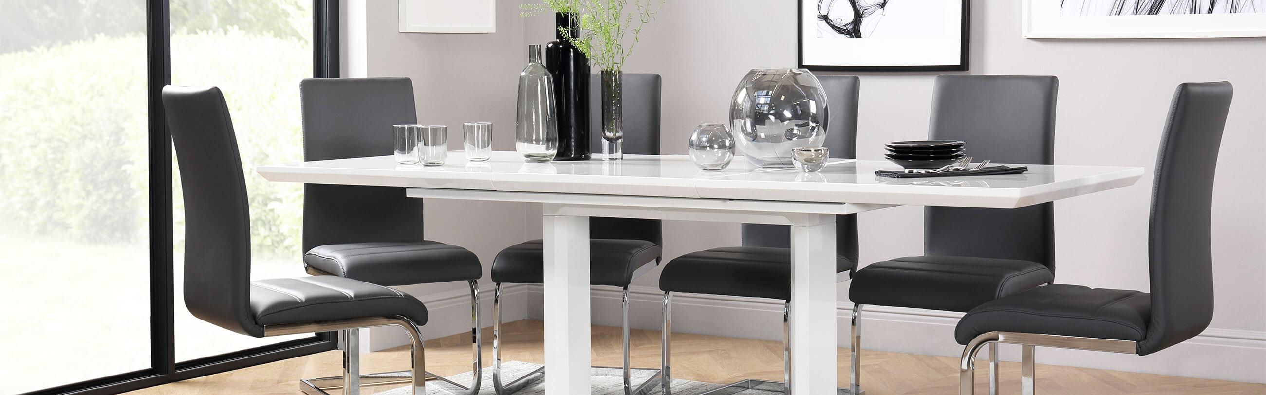 White Dining Sets Dining Room Ideas Advice Inspiration Furniture And Choice