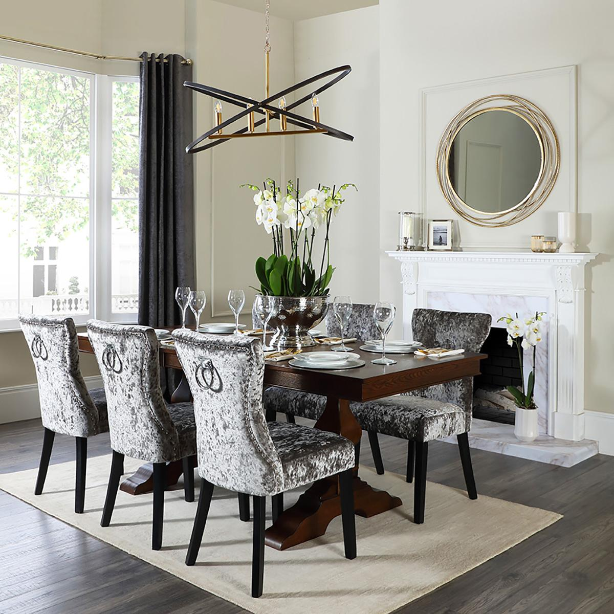 Cavendish Table and Kensington Chairs - Designer Living