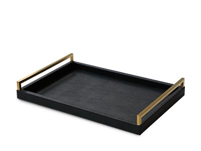Black and Gold Tray