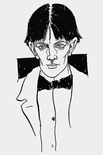 Aubrey Beardsley's Portrait