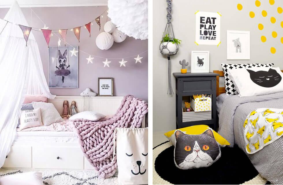 Not Just Pink 10 Fresh And Colourful Decor Ideas For Girls Bedrooms Inspiration Furniture And Choice