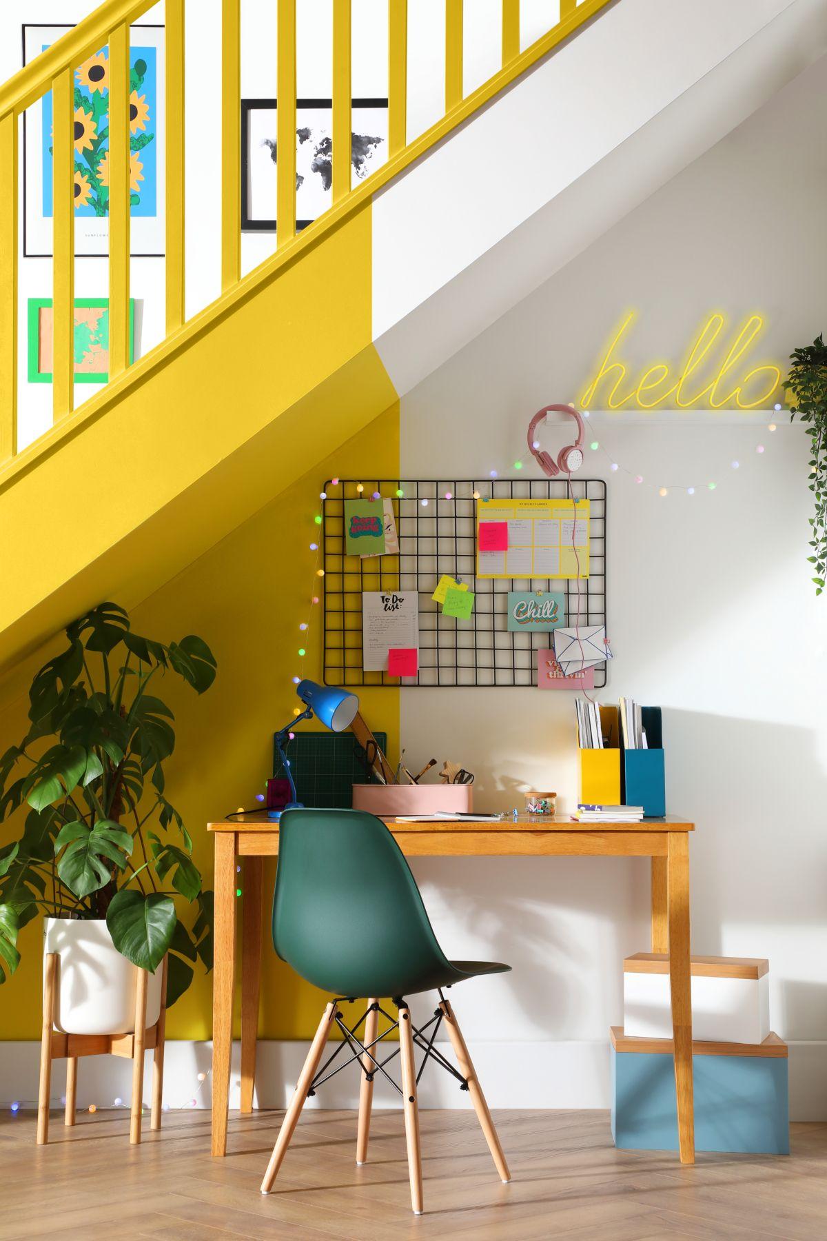 Desk Shot - Living in Colour