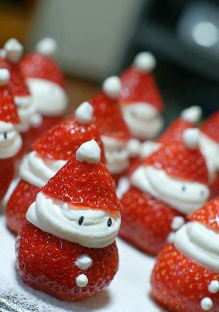 Strawberry and cream dessert.