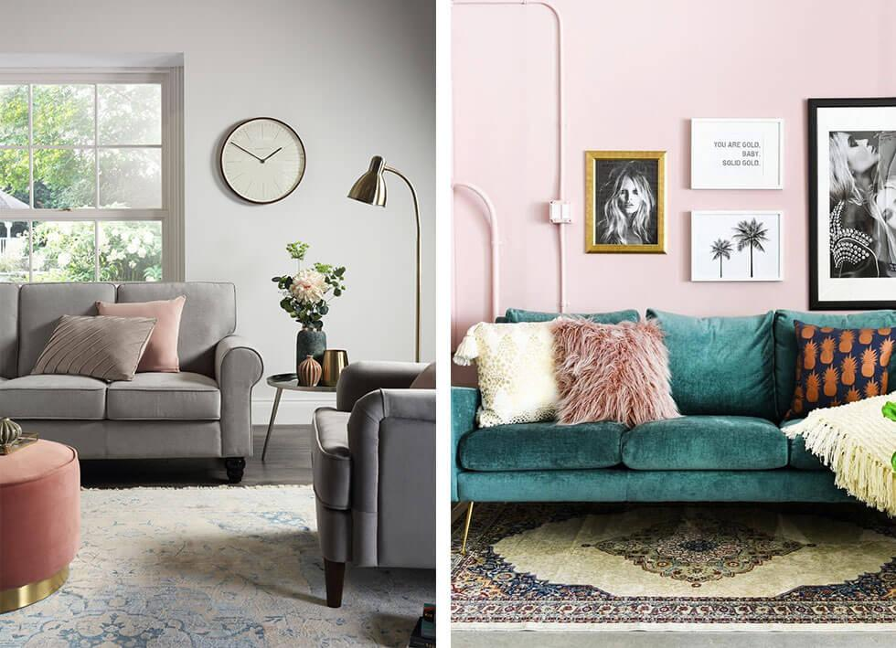 Small Living Room Ideas Advice, Sofas For Small Living Rooms Uk