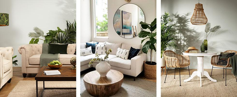 Compilation of neutral themed spaces.