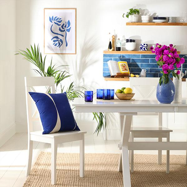 A Greek staycation: How to bring Grecian beauty into the home