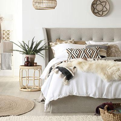 A modern take on boho decor (and 5 easy ways to get the look!)