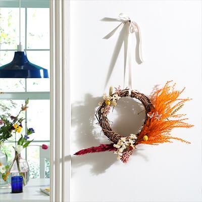 DIY: A fresh floral spring hoop