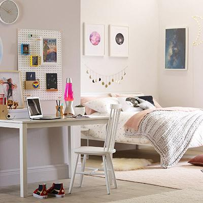 Not just pink: 10 fresh (and colourful) decor ideas for girls' bedrooms