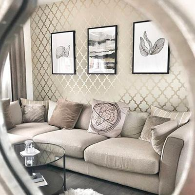 Homes We Love: This neutral chic home has glam details and a dreamy dressing room