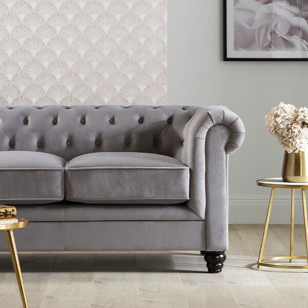 How to style and care for a velvet sofa