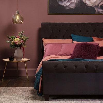 These purple bedrooms show how pretty and versatile this colour can be
