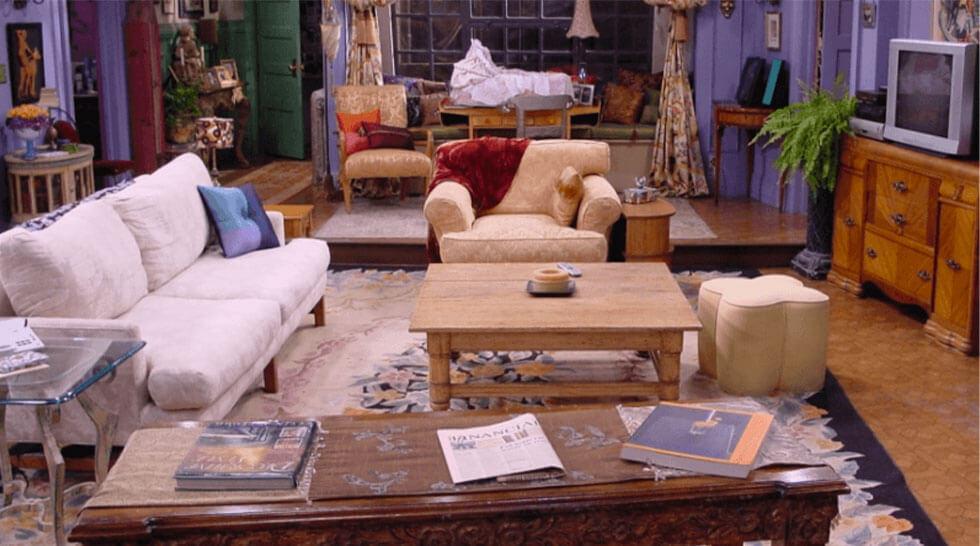 Monica's apartment in Friends
