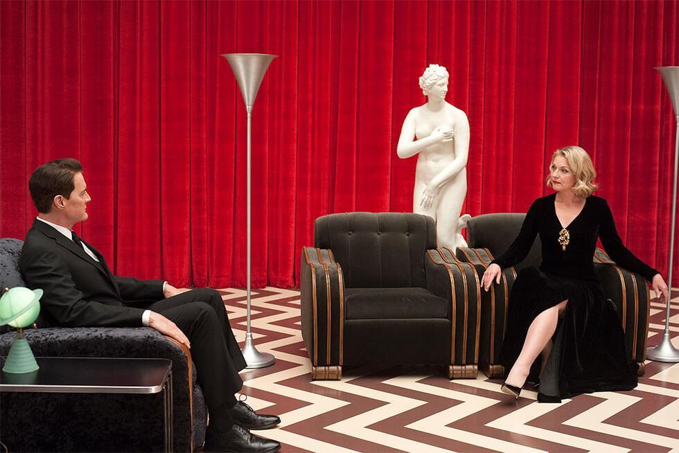 Red room in twin peaks