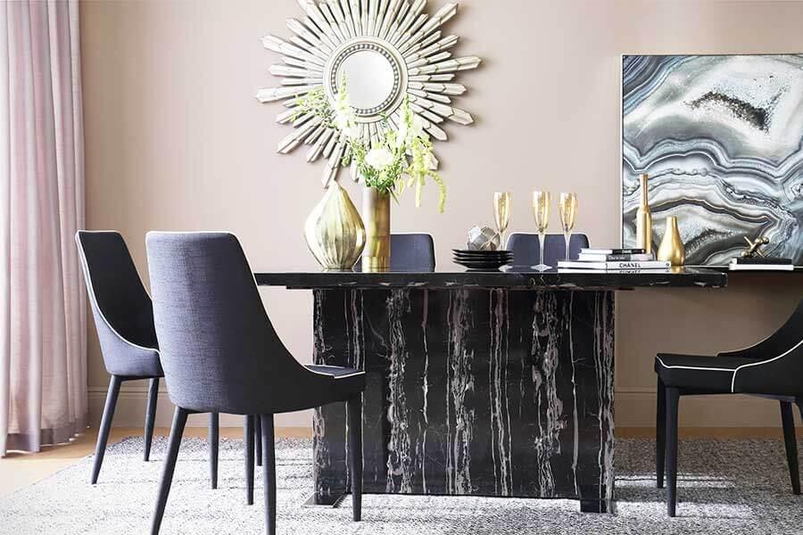 Black Dining Sets Room, Dining Room Chairs Uk Black