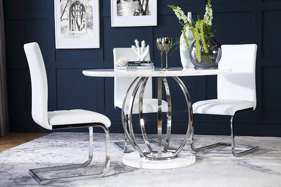 Round Table Chairs Round Dining Sets Furniture And Choice